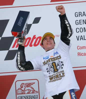 Melhores momentos: Viñales no GP de Valência de 2013