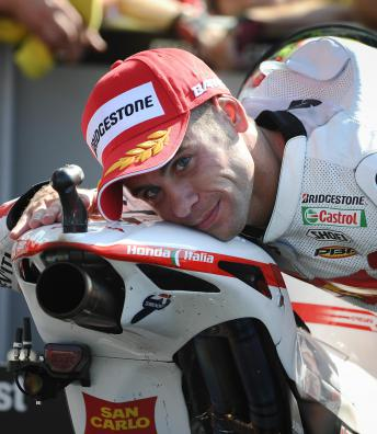 Best Moments: Alvaro Bautista San Marino GP 2012