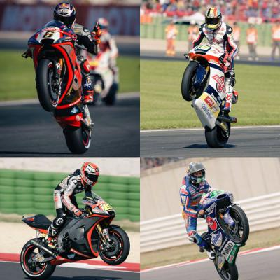 The Fab Four #wheeliewednesday