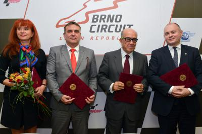 Dorna prolonge son contrat avec Brno jusqu'à 2020