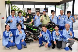 Sakura Factory Visit