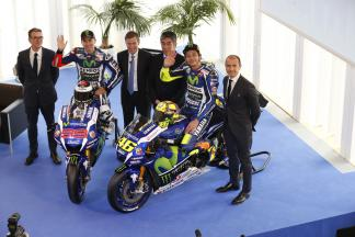 Movistar Yamaha MotoGP unveil 2016 machine