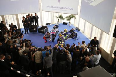 Movistar Yamaha MotoGP launch press conference
