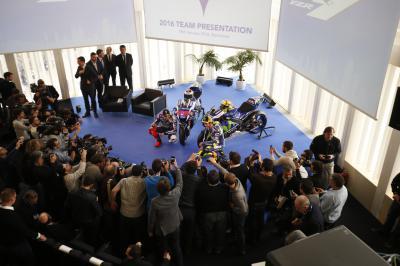 Movistar Yamaha MotoGP launch press conference