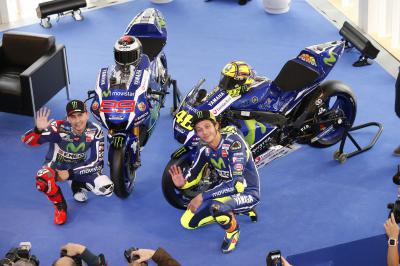 Movistar Yamaha lift the covers on the new M1
