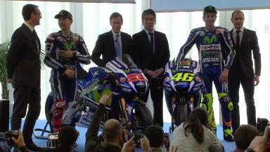 Movistar Yamaha 2016 Launch Presentation