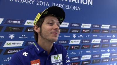 "Rossi Interview: ""Now we have to concentrate on the mission"""
