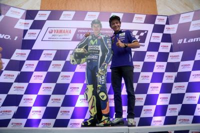 Valentino Rossi meets fans in Indonesia