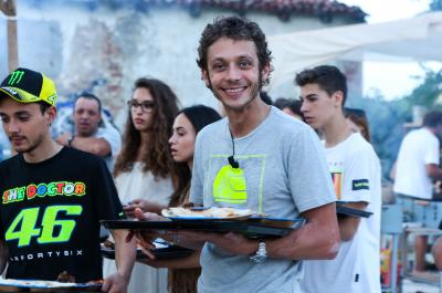 Valentino Rossi in der Jury bei Koch-Show