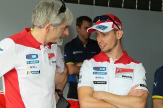 Luigi Dall'Igna and Casey Stoner, Ducati - 2016 Sepang MotoGP™ Private Test - Day 1