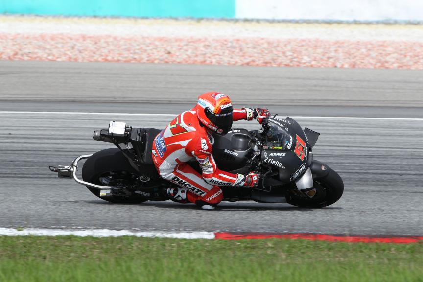 Michele Pirro, Ducati - 2016 Sepang MotoGP™ Private Test - Day 1