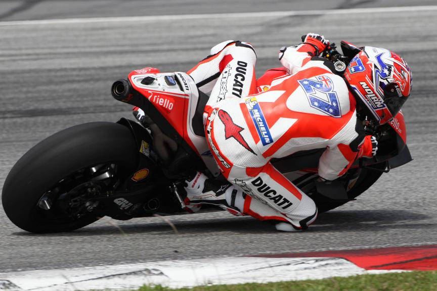 Casey Stoner, Ducati - 2016 Sepang MotoGP™ Private Test - Day 1
