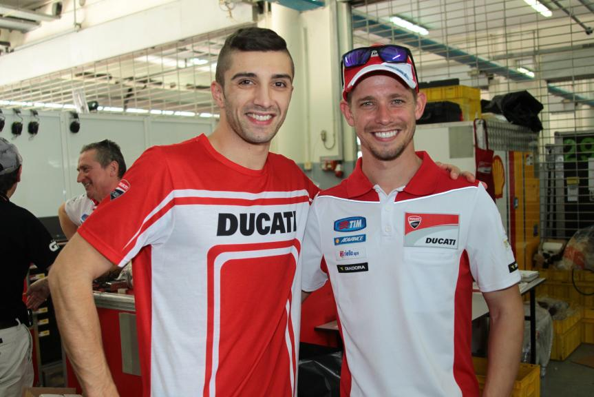 Andrea Iannone, Casey Stoner, 2016 Sepang MotoGP™ Private Test - Day 1
