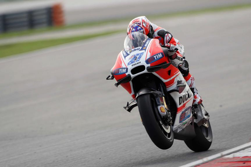 Casey Stoner, 2016 Sepang MotoGP™ Private Test - Day 1