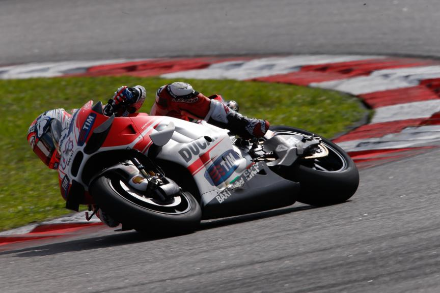 Andrea Dovizioso, Ducati Team, 2016 Sepang MotoGP™ Official Test