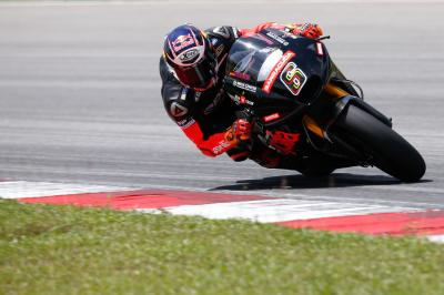 "Bradl: ""The work schedule is rather tight"""