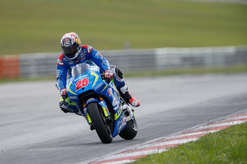 Maverick Vinales, Team Suzuki Ecstar, 2016 Sepang MotoGP™ Official Test