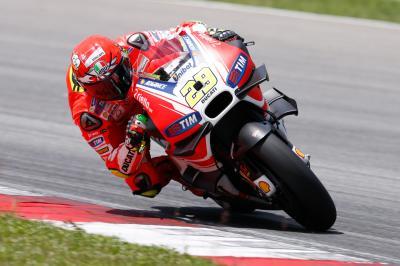 Iannone: «He estado cerca de los pilotos más rápidos»