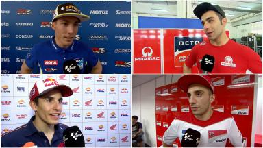 Los pilotos de MotoGP™ hablan del primer día del #SepangTest