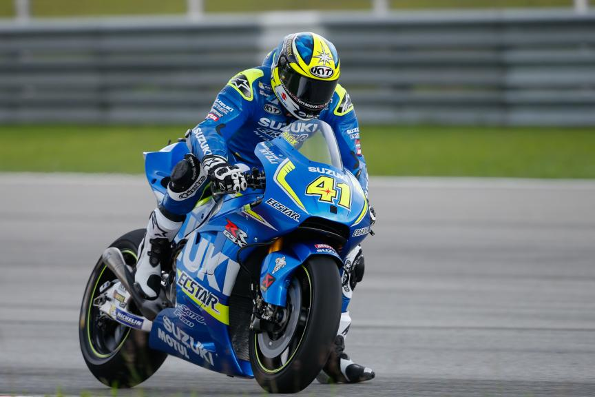 Aleix Espargaro, Team Suzuki Ecstar, 2016 Sepang MotoGP™ Official Test