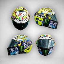 Rossi's special Helmet, 2016 Sepang MotoGP™ Official Test