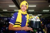 Rossi's special livery on Sepang Test