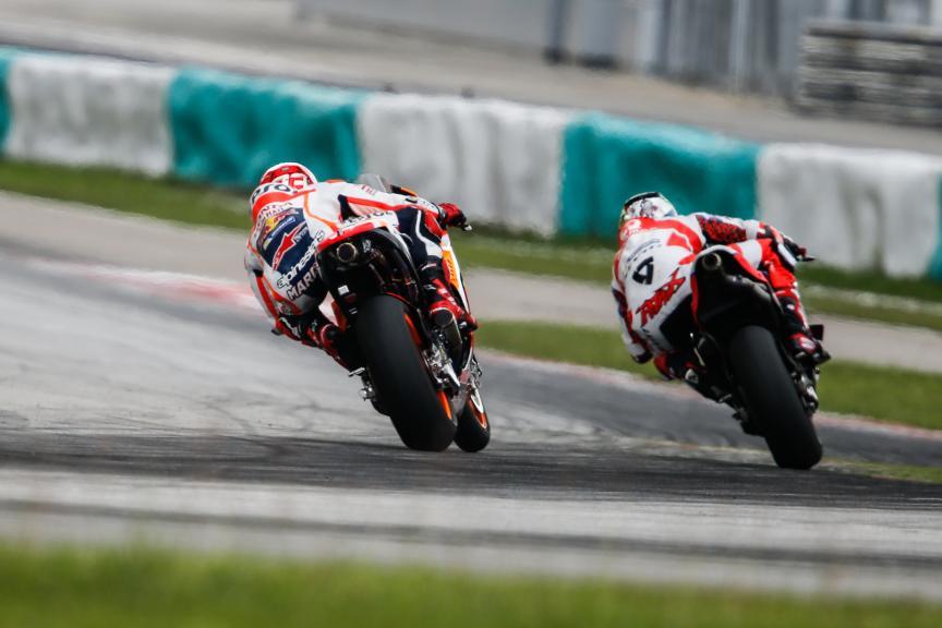 Marquez, Petrucci, Repsol Honda Team, Octo Pramac Racing, 2016 Sepang MotoGP™ Official Test