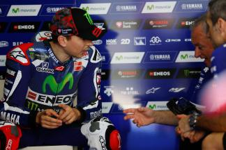 "Lorenzo: ""The lap times were relatively easy to achieve"""