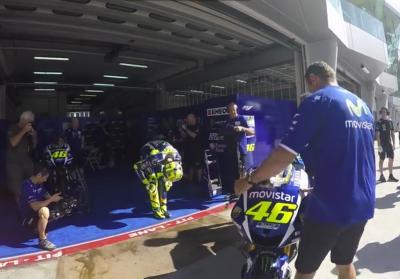 Valentino Rossi auf der Strecke! #SepangTest