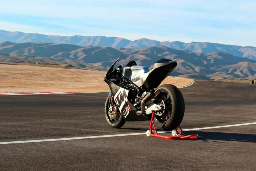 WP-KTM Moto2 Bike