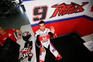 Petrucci tops the times as attention shifts to hard tyres