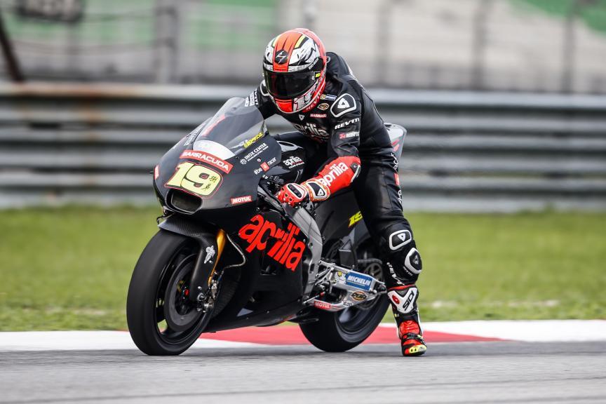Alvaro Bautista, Aprilia Racing Team Gresini, 2016 Sepang MotoGP™ Official Test