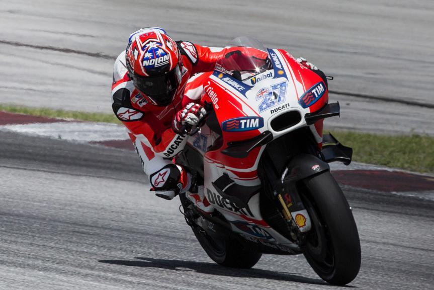 Casey Stoner, Ducati Team, 2016 Sepang MotoGP™ Official Test
