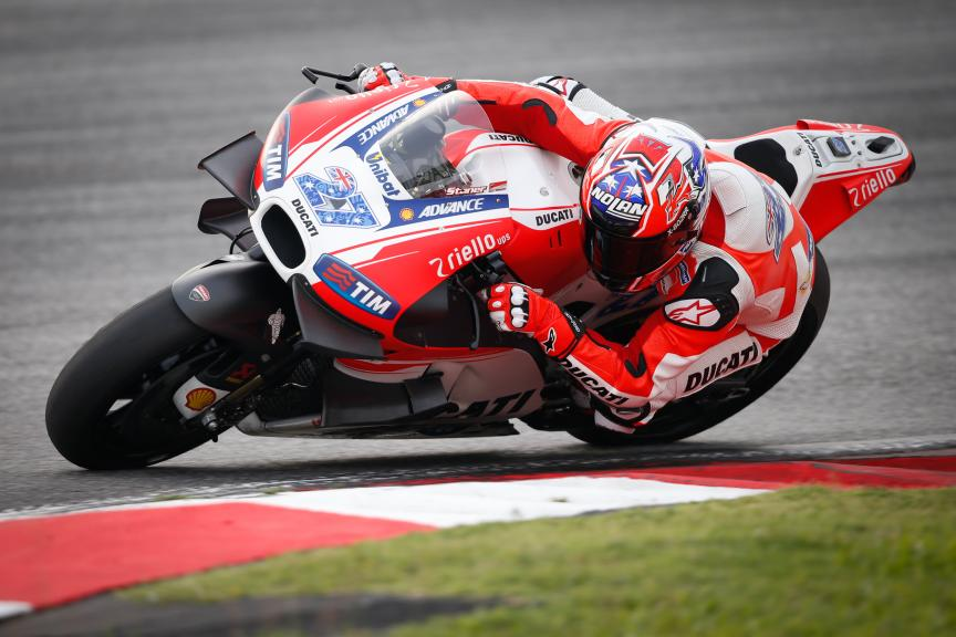 Casey Stoner, Ducati Team, 2016 Sepang MotoGP™ Official Test
