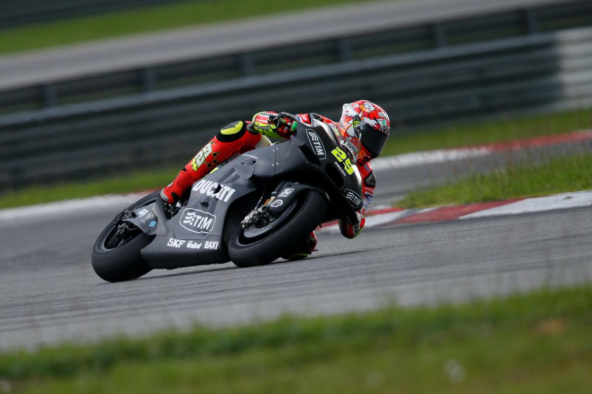 """Iannone: """"Today we focused mainly on tyre testing"""""""