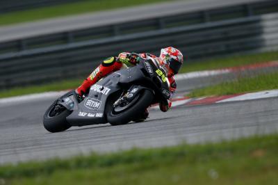 Iannone: «Nos hemos centrado en el neumático delantero»