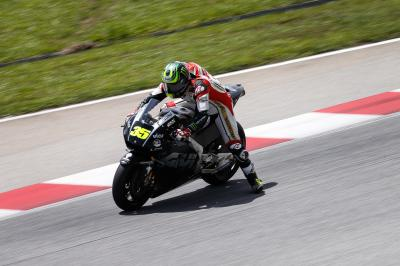 "Crutchlow: ""We had a situation that was out of our control"""