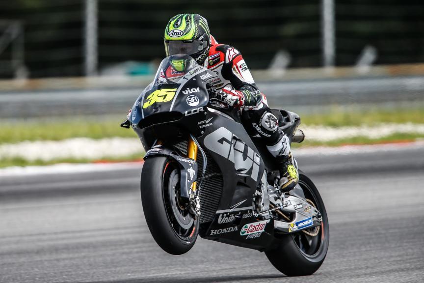 Cal Crutchlow, LCR Honda, 2016 Sepang MotoGP™ Official Test