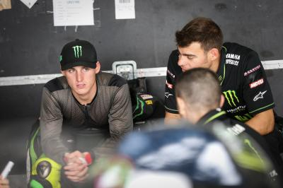"Espargaro: ""We can't say it's been the best of days"""
