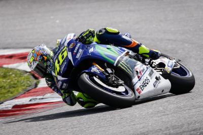 "Rossi: ""We improved the setting of the bike a lot"""