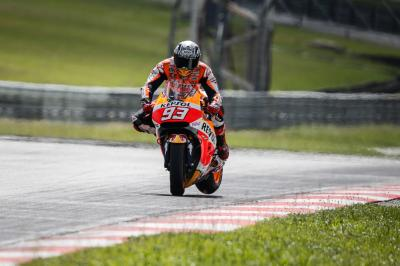 "Marquez: ""We've taken a step forward on day two"""