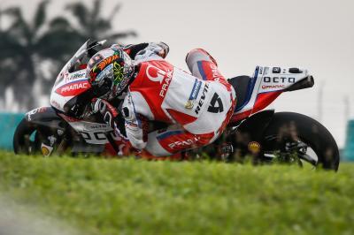 Ducati Octo Pramac, un day 3 con il sorriso a Sepang