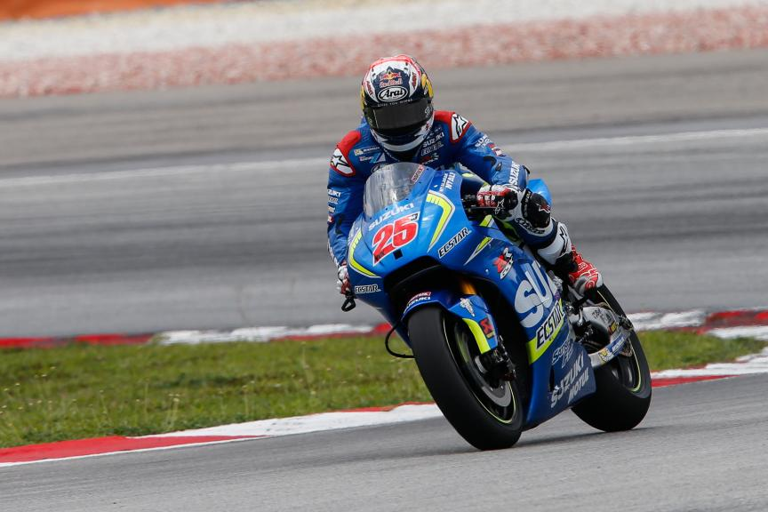 Maverick Viñales, Team Suzuki Ecstar, Valencia MotoGP Official Test