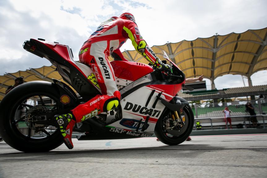 Andrea Iannone, Ducati Team, 2016 Sepang MotoGP™ Official Test