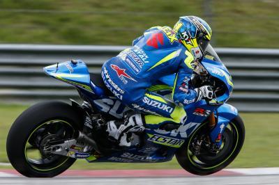 Aleix: «Suzuki está trabajando muy duro»