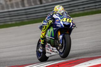 "Rossi: ""The bike without the wings, it's more beautiful!'"