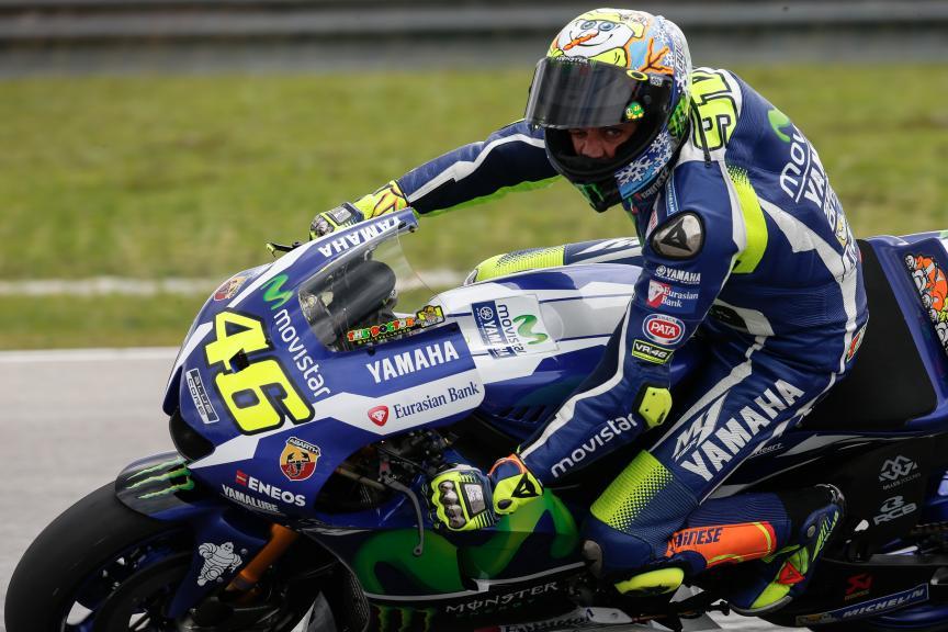 Valentino Rossi, Movistar Yamaha MotoGP, 2016 Sepang MotoGP™ Official Test
