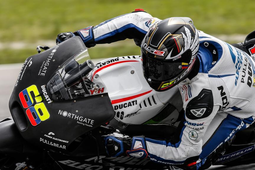 Yonny Hernandez, Aspar MotoGP Team, 2016 Sepang MotoGP™ Official Test
