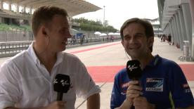 Team Suzuki Ecstar's Manager Davide Brivio reflects on the Sepang test with motogp.com's Dylan Gray.