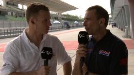 Repsol Honda's Team Principal Livio Suppo talks to motogp.com's Dylan Gray about taming the aggressive nature of the RC213V engine.